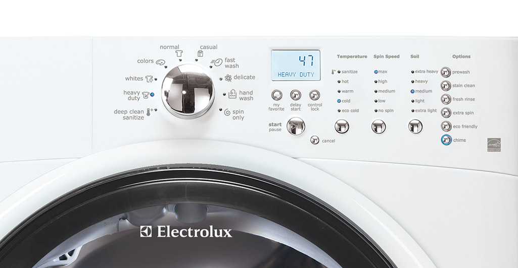 Electrolux Eiflw50liw 27 Quot 4 9 Cu Ft Front Load Washer