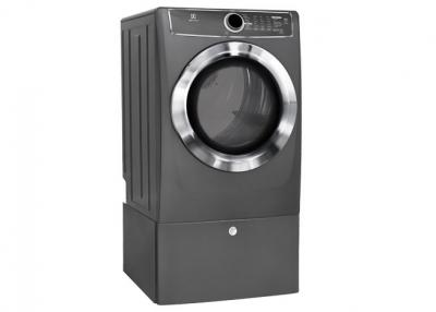 Electrolux Front Load Perfect Steam Electric Dryer with Instant Refresh and 9 cycles - 8.0 Cu. Ft. - EFMC617STT