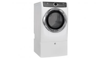 Electrolux Front Load Perfect Steam Electric Dryer with Instant Refresh and 8 cycles - 8.0 Cu. Ft. - EFMC517SIW