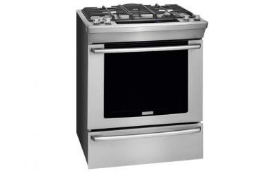 Electrolux 30'' Dual-Fuel Built-In Range with Wave-Touch Controls - EW30DS8CRS