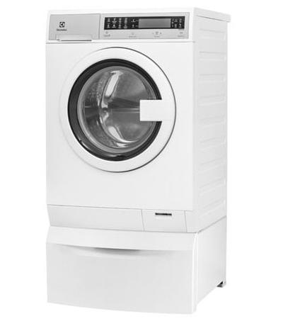 Electrolux Compact Washer with IQ-Touch Controls featuring Perfect Steam - 2.4 Cu. Ft. - EFLS210TIW