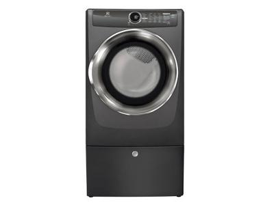 Electrolux 8.0 Cu. Ft. Front Load Perfect Steam Electric Dryer with Instant Refresh and 8 cycles- EFMC517STT