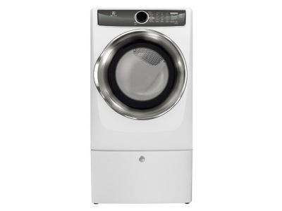 Electrolux Front Load Perfect Steam Gas Dryer with Instant Refresh and 9 cycles - 8.0. Cu. Ft. - EFMG617SIW