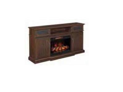 Bell'O Manning Tv Stand and Electric Fireplace MANNINGMANTEL+MANNINGFIREBOX