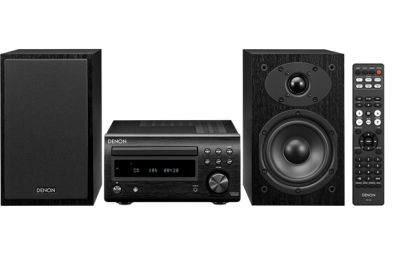 Denon HiFi System with CD, Bluetooth and FM/AM Tuner  DM41SBK