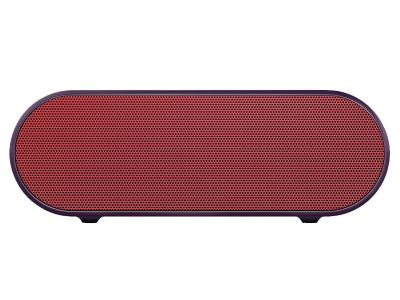 SONY PORTABLE WIRELESS SPEAKER WITH BLUETOOTH - SRSX2/RED