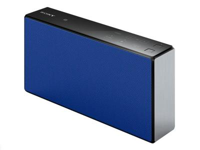 SONY PORTABLE WIRELESS SPEAKER WITH BLUETOOTH - SRSX55/BLUE