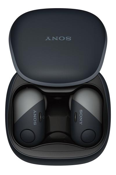 Sony Truly Wireless Headphones  with Noise Canceling WFSP700N/B