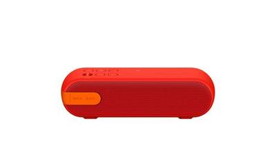 SONY PORTABLE WIRELESS SPEAKER WITH BLUETOOTH - SRSXB2/RED