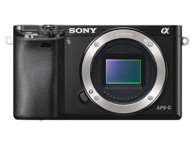 SONY α6000 E-MOUNT CAMERA WITH APS-C SENSOR -ILCE6000/B