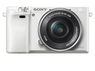 SONY α6000 E-MOUNT CAMERA WITH APS-C SENSOR - ILCE6000L/W