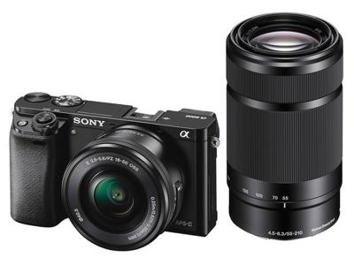 SONY α6000 E-MOUNT CAMERA WITH APS-C SENSOR - ILCE6000Y