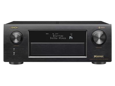 Denon 11.2 Channel Supports Dolby Atmos, Auro-3D, and DTS:X AVRX6500H