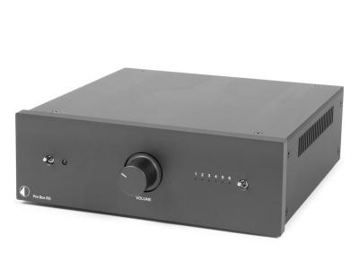 Project Audio High-end stereo line tube-preamplifier - Pre Box RS - Black - PJ50433403