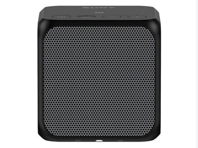 SONY PORTABLE WIRELESS SPEAKER WITH BLUETOOTH - SRSX11/BLK