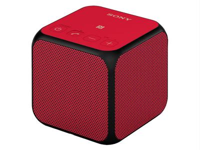 SONY PORTABLE WIRELESS SPEAKER WITH BLUETOOTH - SRSX11/RED