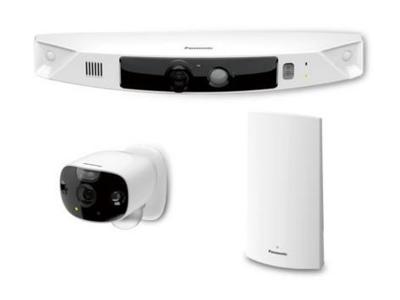 Panasonic KX-HN7052 HomeHawk Wireless Outdoor HD Cameras -