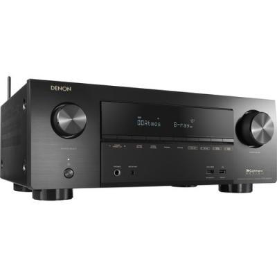 Denon 7.2ch 4K Ultra HD AV Receiver with 3D Audio and HEOS -  AVRX2600H
