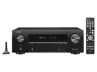 Denon 7.2ch 4K Ultra HD AV Receiver with 3D Audio and HEOS - AVR-X1600H