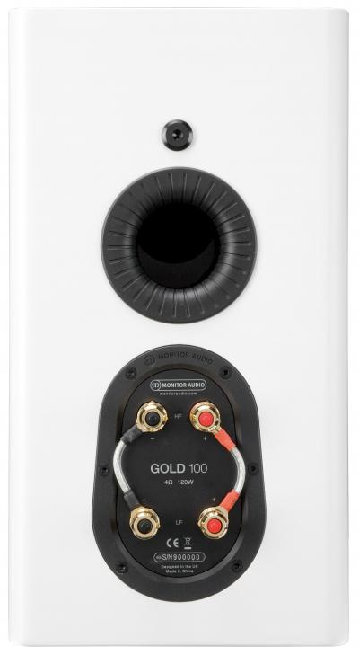 Monitor Audio Bookshelf Speaker - G5G100W (pair)