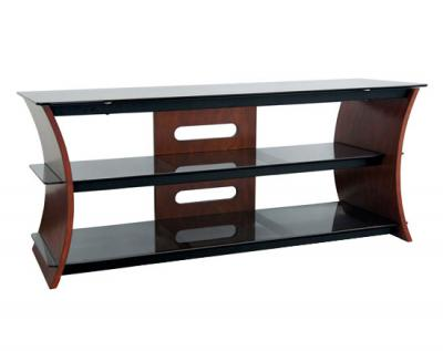 Bell'O Curved Wood TV Stand CW-356