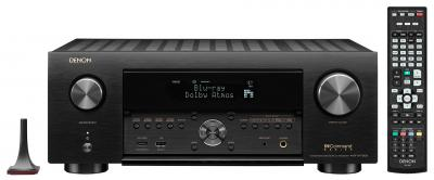Denon 9.2 Channel 8K AV Receiver with 3D Audio, HEOS Built-in and Voice Control - AVRX4700H