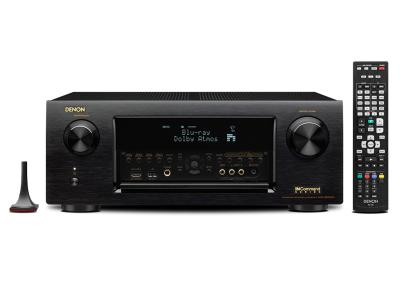 Denon 9.2 Channel Full 4K Ultra HD Network A/V Receiver with Wi-Fi and Bluetooth - AVR-X6200W