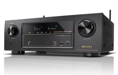 Denon 7.2 Channel Full 4K Ultra HD Network AV Receiver with Wi-Fi and Bluetooth -AVRX1300W