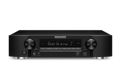 Marantz NR1508 5.2 Channel Full 4K Ultra HD Network AV Receiver with HEOS - NR1508
