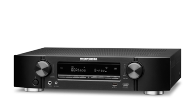 Marantz NR1608 7.2 Channel Full 4K Ultra HD Network AV Receiver with HEOS - NR1608
