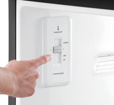 Frigidaire Gallery Custom-Flex 20.4 Cu. Ft. Top Freezer Refrigerator - FGTR2045QE