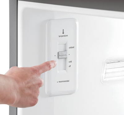 Frigidaire Gallery Custom-Flex 20.4 Cu. Ft. Top Freezer Refrigerator - FGTR2045QF