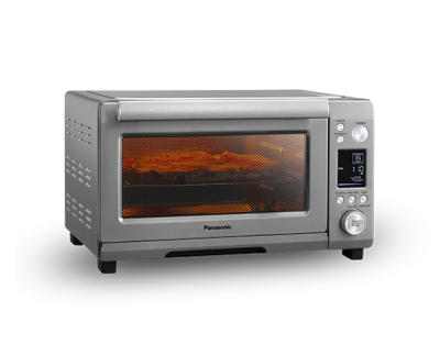 Panasonic Instant Heat Toaster Oven with Double Infrared and Metal Heating - NBG251