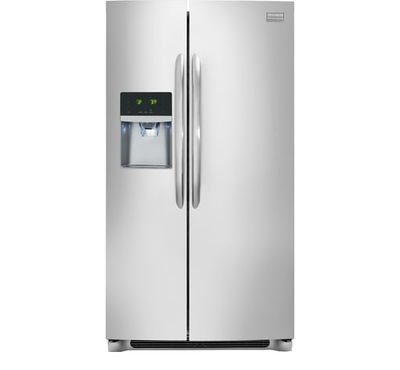 Frigidaire Gallery 22.2 Cu. Ft. Counter-Depth Side-by-Side Refrigerator - FGHC2355PF