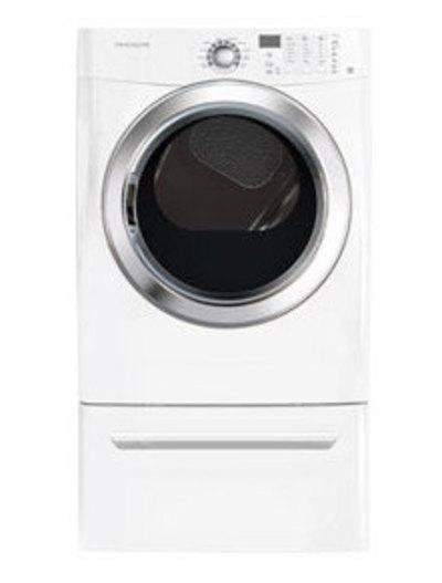 Frigidaire 7.0 Cu.Ft Gas Dryer featuring Ready Steam FFSG5115PW