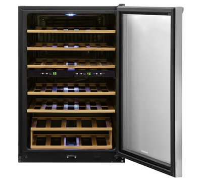 Frigidaire 38 Bottle Two-Zone Wine Cooler - FFWC38C2QS