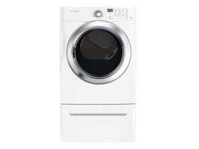 Frigidaire 7.0 Cu.Ft Electric Dryer featuring Ready Steam CFSE5115PW