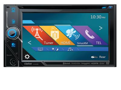 Clarion 2-DIN DVD MULTIMEDIA STATION WITH 6-INCH TOUCH PANEL CONTROL  VX405