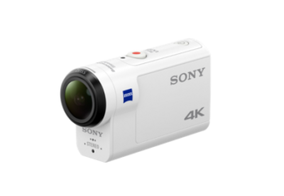 Sony FDR-X3000 4K ACTION CAM WITH WI-FI® & GPS -  FDRX3000R/W