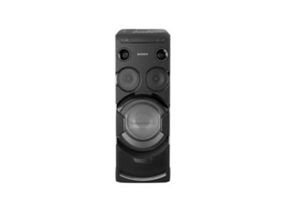 Sony HIGH-POWER HOME AUDIO SYSTEM WITH BLUETOOTH® AND WI-FI MHCV77W