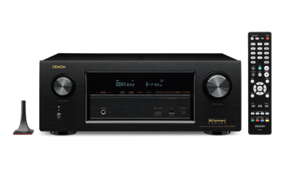 Denon 7.2 Channel Full 4K Ultra HD Network AV Receiver with Wi-Fi and Bluetooth® -AVRX3300W