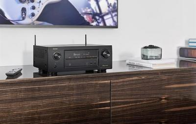 Denon 7.2 Channel Full 4K Ultra HD Network AV Receiver with Wi-Fi and Bluetooth - AVRX2300W