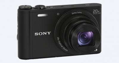 SONY WX350 COMPACT CAMERA WITH 20X OPTICAL ZOOM - DSCWX350B
