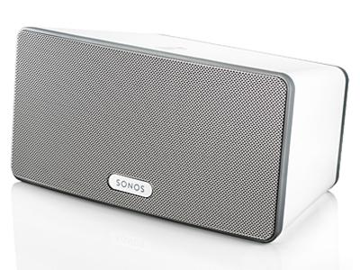 Sonos PLAY:3 Mid-Sized Wireless Speaker for Streaming Music - White