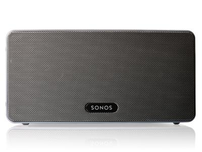 Sonos PLAY:3 Mid-Sized Wireless Speaker for Streaming Music - Black