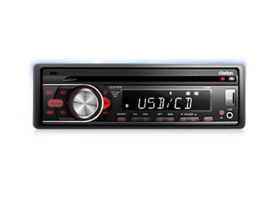 Clarion CD/USB/AUX-IN/SD/MP3/WMA RECEIVER CZ105