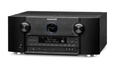 Marantz 11.2 Channel Full 4K Ultra HD A/V Pre-Amplifier with Bluetooth and Wi-Fi AV7703