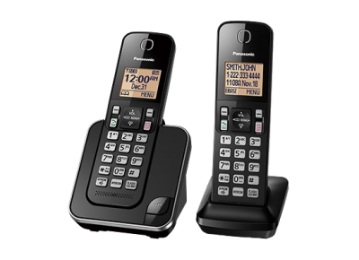 Panasonic Digital Cordless Phone System - KXTGC382B