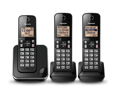 Panasonic Digital Cordless Phone System - KXTGC383B
