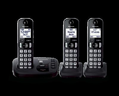 Panasonic Digital Cordless Answering System - KXTGD223B